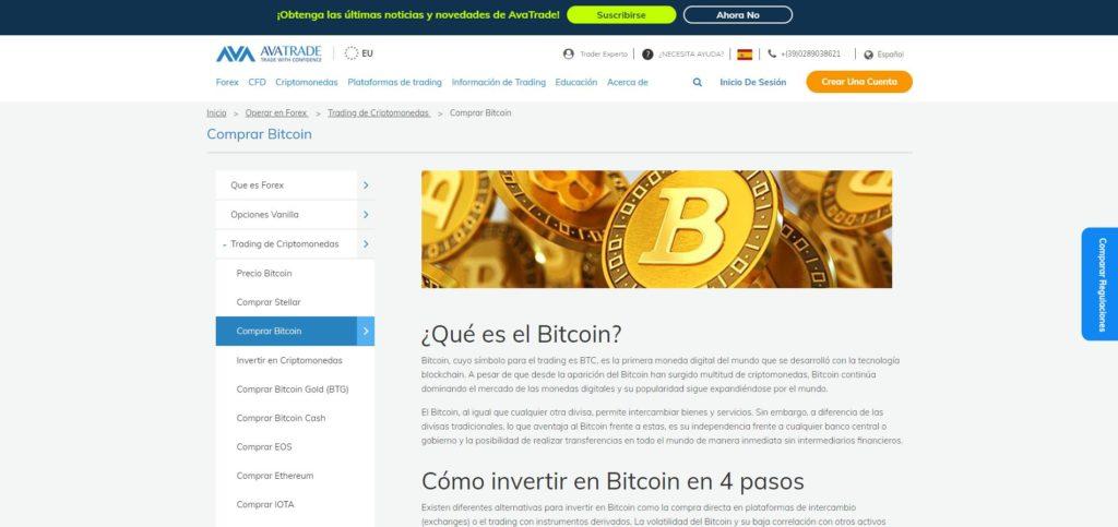 avatrade criptomoneda bitcoin