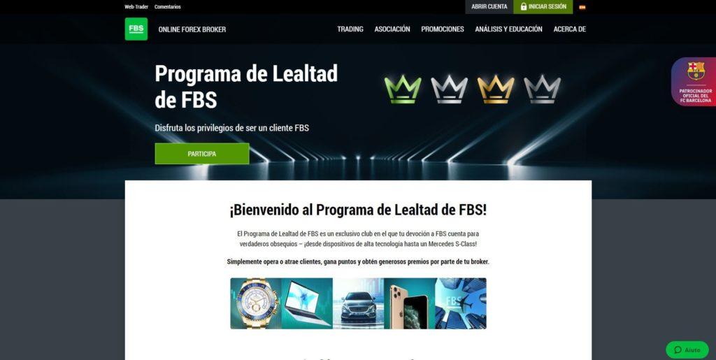 programa de lealtad de fbs