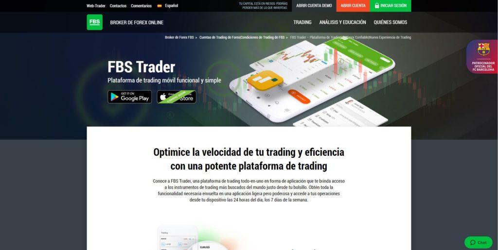fbs trader características