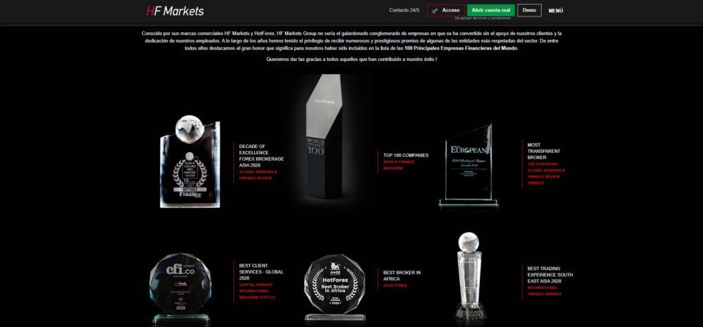 los premios de hotforex