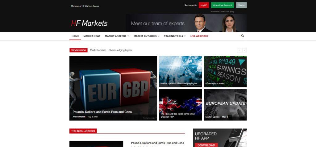 hotforex sección análisis de mercado