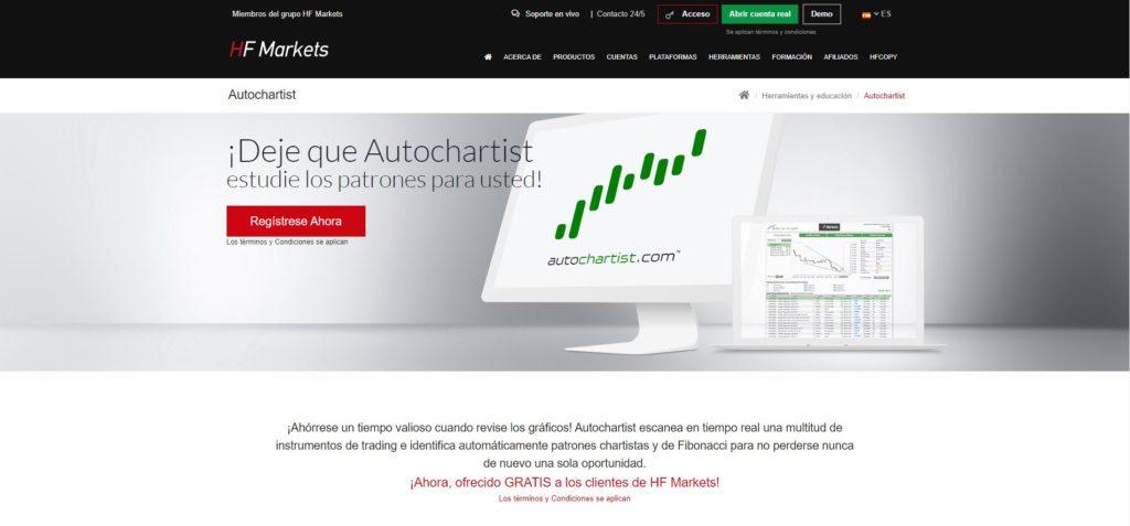 hotforex características de la herramienta autochartist