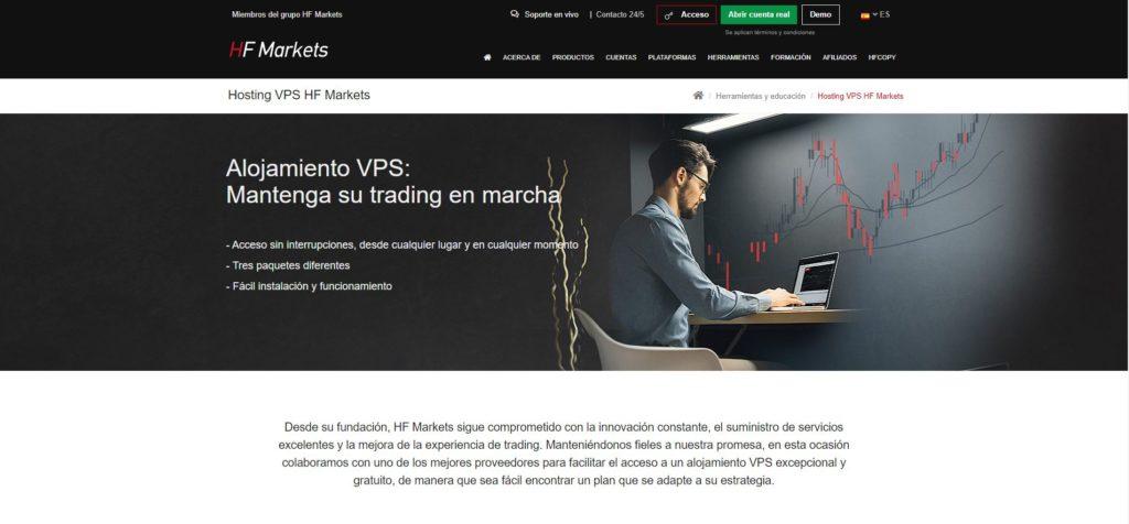 hotforex servicio vps