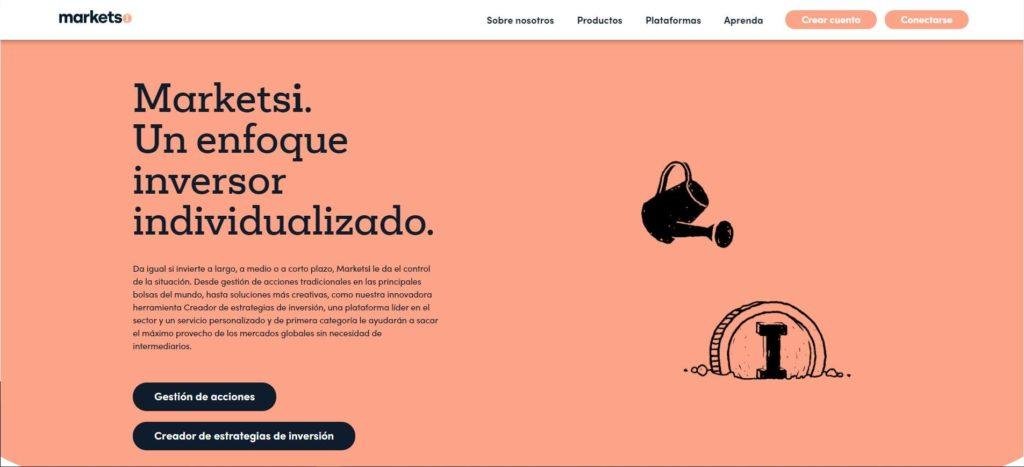 cuenta MarketsI de markets.com