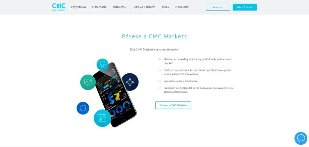 pásese a cmc markets