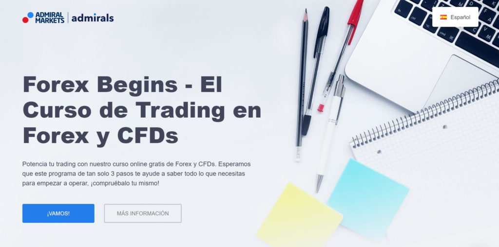 El curso de trading en forex y cfds con admiral markets