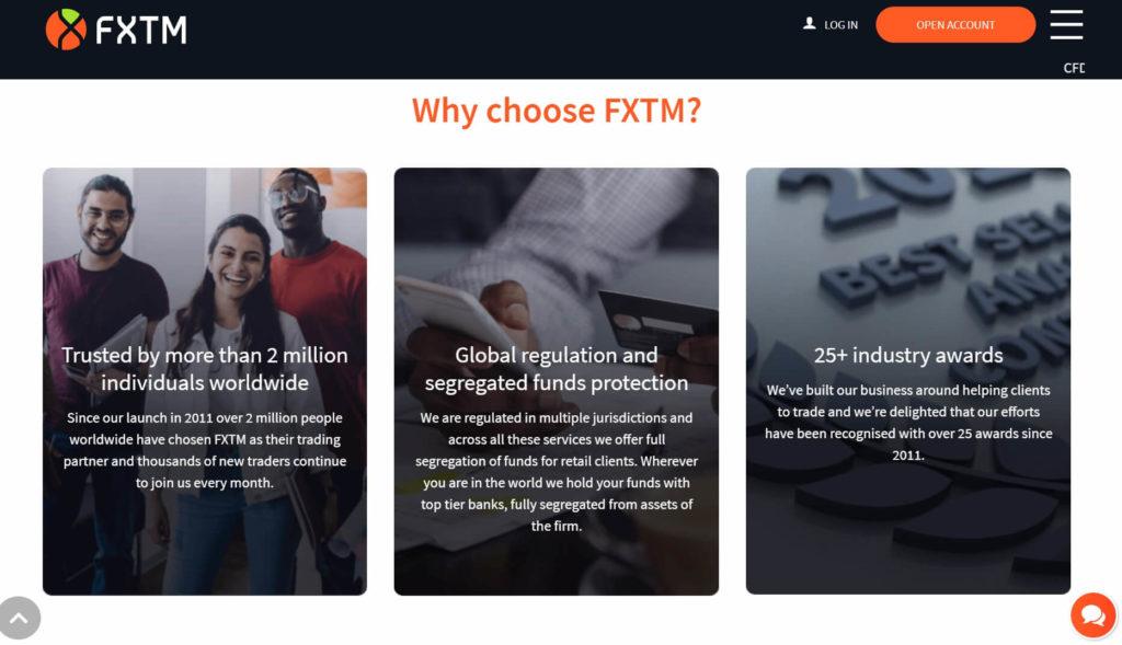 Por que eligir fxtm
