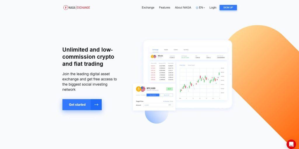página web de naga exchange criptomonedas