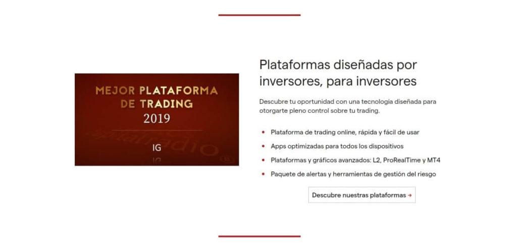 Las plataformas disenada por inversores para inversores