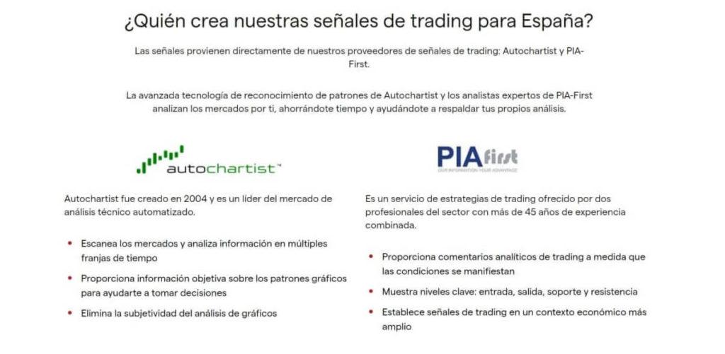 Quien crea los senales de trading para los traders espanol