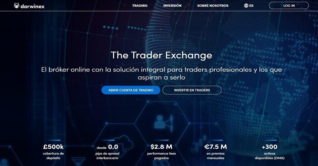 Darwinex es el broker online con la solucion integral para traders profesionales y los que aspiran a serlo