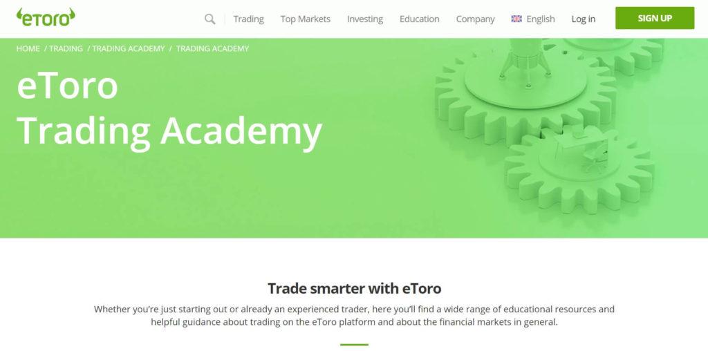 La trading academy de etoro
