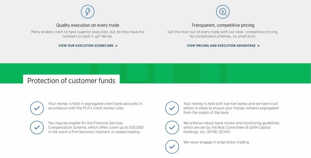 La proteccion del dinero de los traders en forex.com
