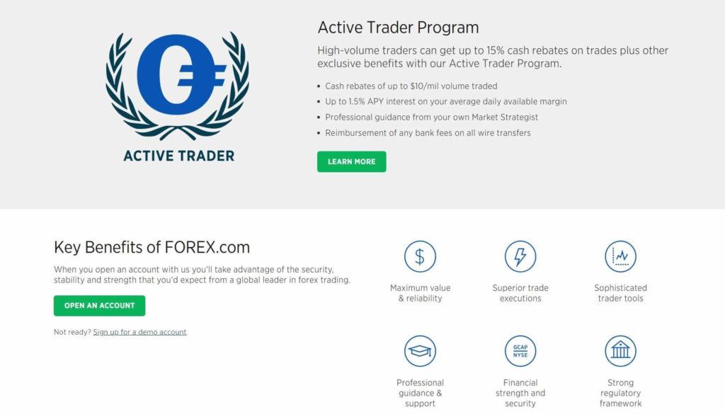 Por qué eligir forex.com