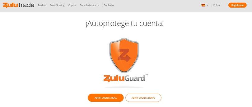 Autoprotege tu cuenta con ZuluGuard